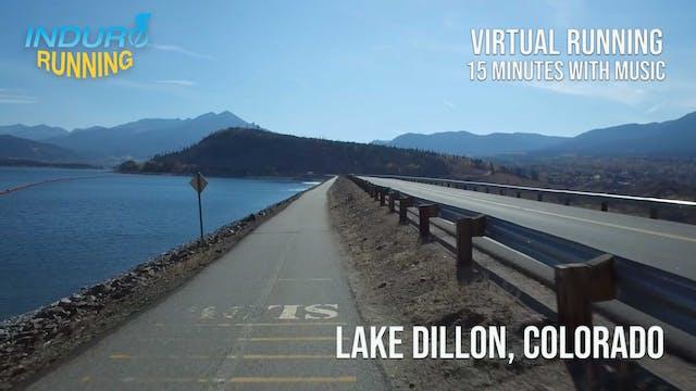 Induro Running: Lake Dillon, Colorado...