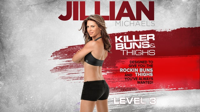 Jillian Michaels: Killer Buns & Thighs - Level 3