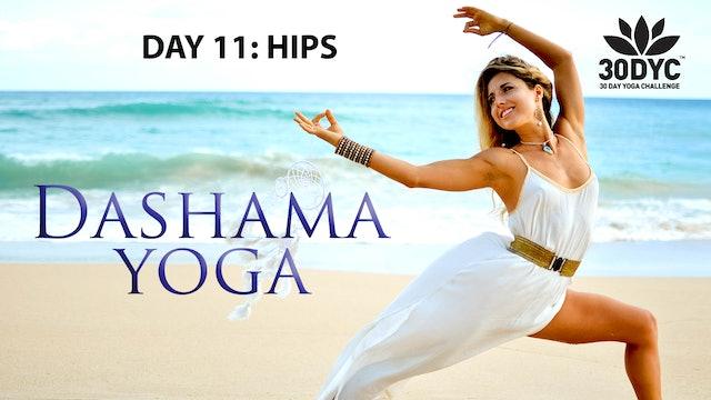 30 Day Yoga Challenge: Practice 11 - Hips