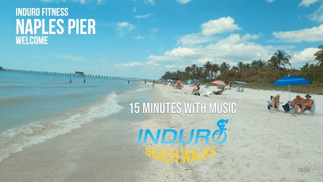 Induro Beach Walking with Music: Napl...