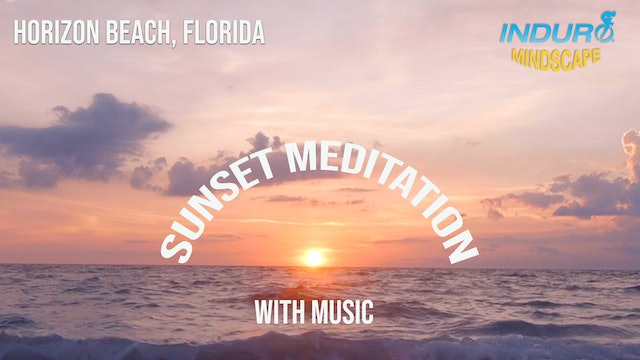 Induro Mindscape with Music: Horizon Beach Sunset, Florida