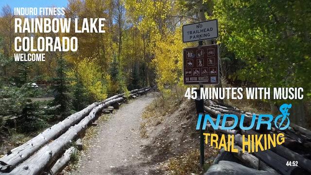 Induro Trail Hiking with Music: Rainbow Lake, Colorado - 45 Minute Hike