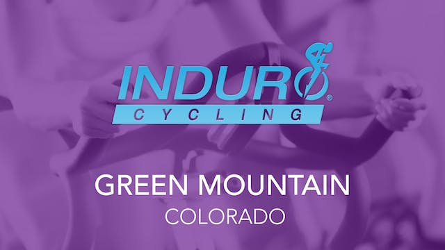 Induro Cycling Studio: Green Mountain...