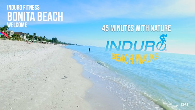 Induro Beach Walking with Nature: Bonita Beach, Florida - 45 Minute Walk