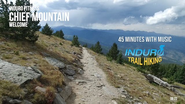 Induro Trail Hiking with Music: Chief Mountain, Colorado - 45 Minute Hike