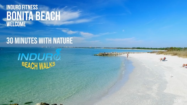 Induro Beach Walking with Nature: Bonita Beach, Florida - 30 Minute Walk