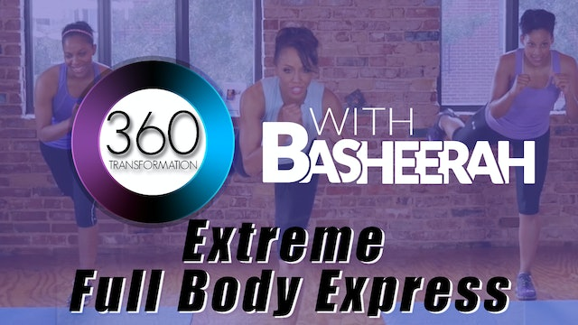 Basheerah Ahmad: Extreme 8 Minute Full Body Workout