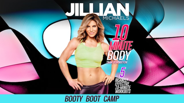 Jillian Michaels: 10 Minute Body Transformation - Booty Boot Camp