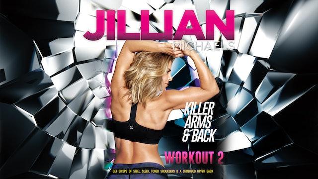 Jillian Michaels: Killer Arms and Back - Workout 2