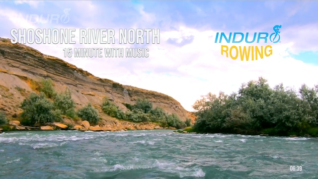 Induro Rowing with Music: Shoshone River North, Wyoming - 15 Minute Motion Row