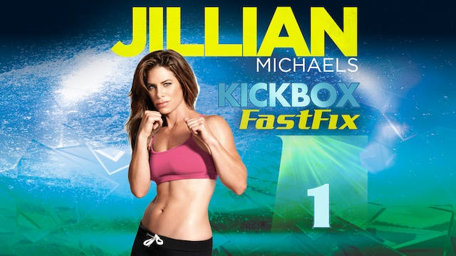 Jillian Michaels: Kickbox Fast Fix 1