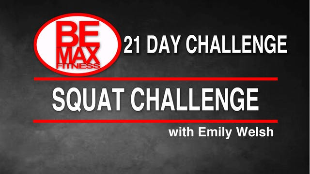 Bemax: Squat Challenge