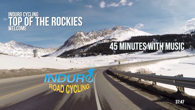 Induro Cycling with Music: Top of the Rockies, Colorado - 45 Minute Ride