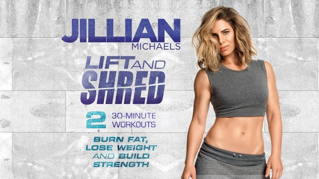 Jillian Michaels Lift and Shred Intro