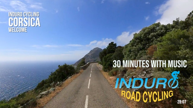 Induro Cycling with Music: Corsica, France - 30 Minute Ride
