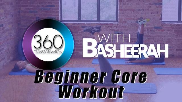 Basheerah Ahmad: Core Beginner Workout