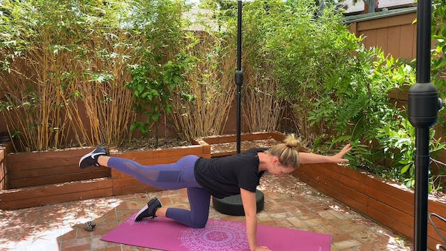 core stability and ab sculpting