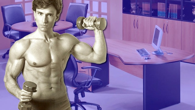 OFFICE WORKOUT: Best Exercises to Do at Work