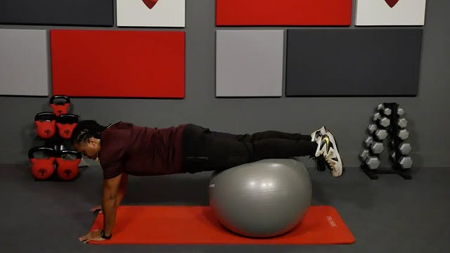 25 Min Exercise Ball Workout
