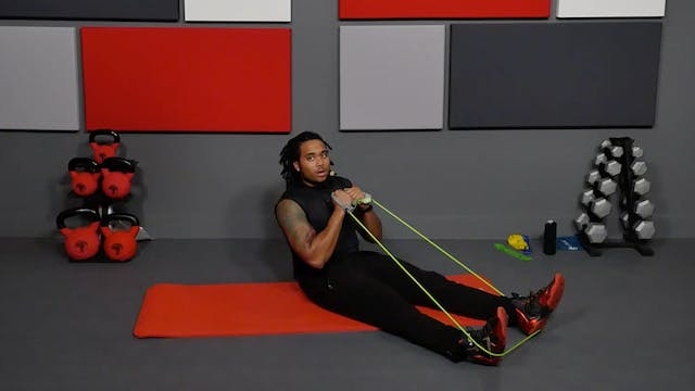25 Min Total Body Resistance Band & Tube
