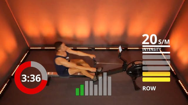 15 Min 2x5 Rowing Workout