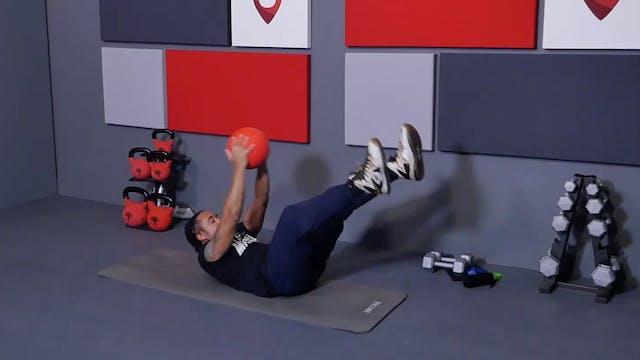 14 Min Core with Slam Ball