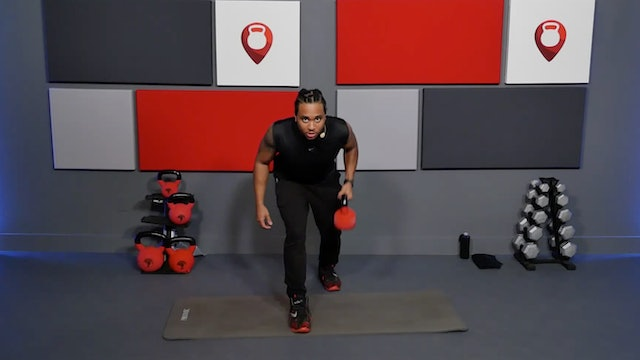 15 Min Full Body Kettlebell