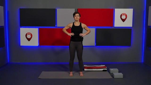 50 Min Yoga for Scoliosis