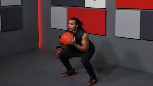 25 Min Total Body Slam Ball