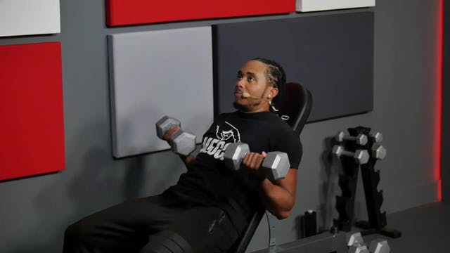 14 Min Full Body Dumbbells