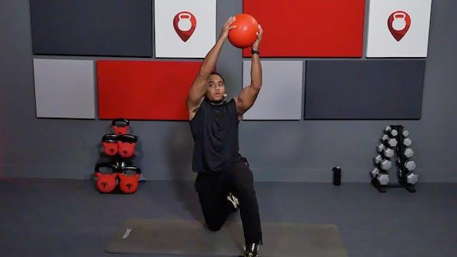 25 Min Core Using Slam Ball