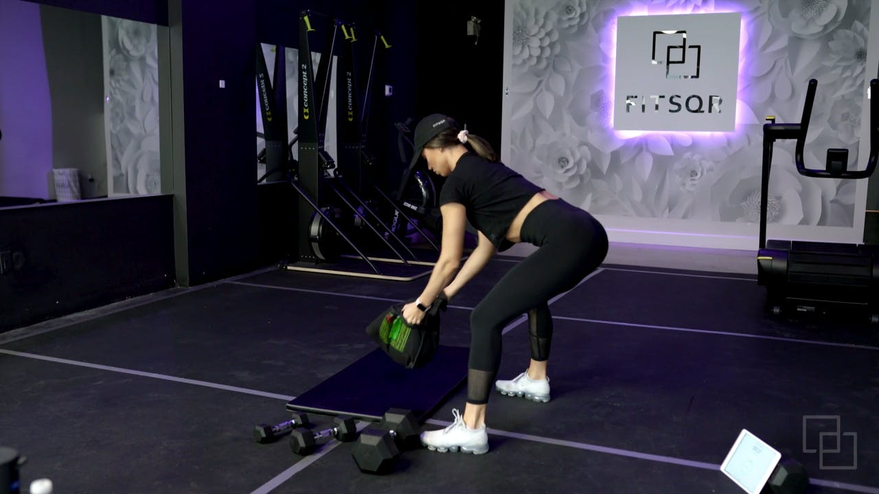 FITSQR LIVE: Total Body Kickoff + Abs