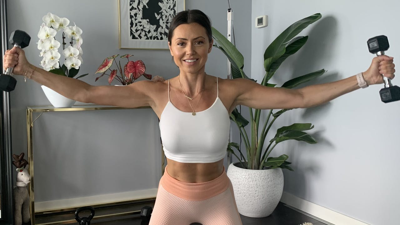 30 minute upper body HIIT + Abs