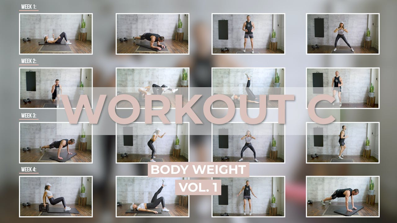 Body Weight Workout C