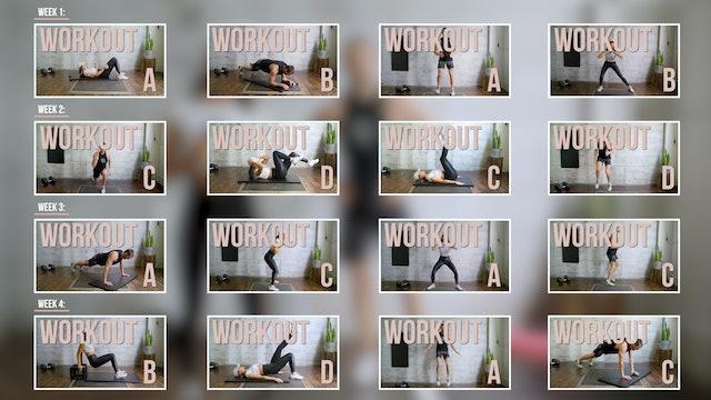 Body Weight Vol. 1 - Calendar