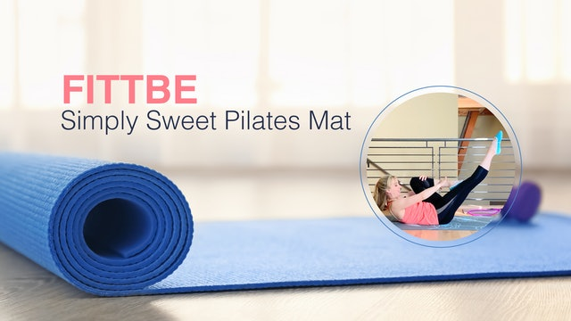 Simply Sweet Pilates Mat