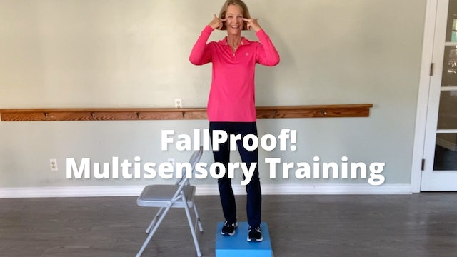 FallProof!  Multisensory Training