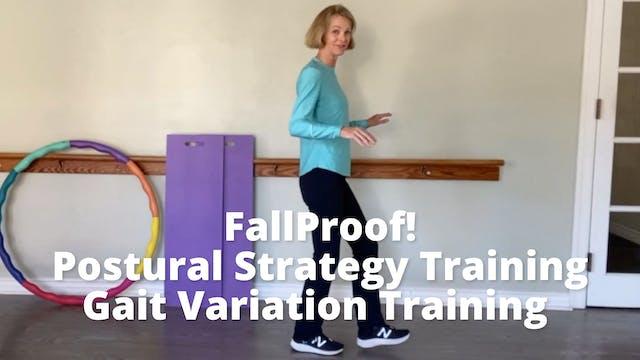 FallProof!  Postural Strategy Trainin...