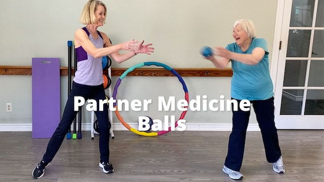 Partner Medicine  Ball Games