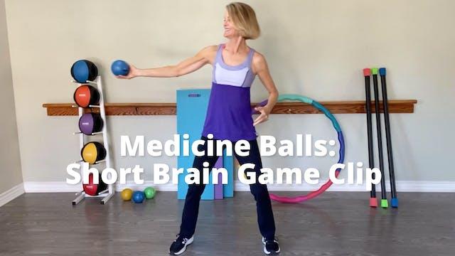 Medicine Ball: Short Brain Game Clip