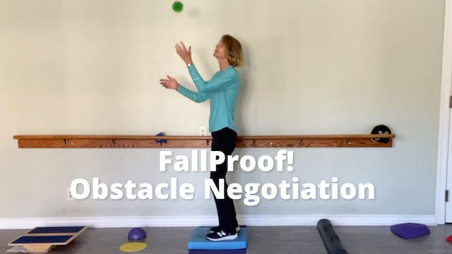 FallProof!  Obstacle Negotiation