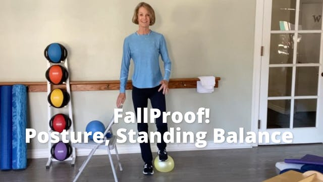 FallProof!  Posture, Standing Balance