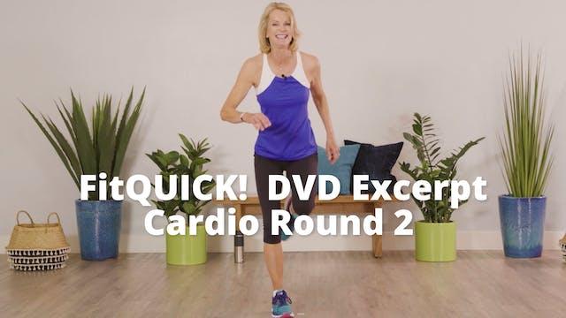 FitQUICK! DVD Excerpt   Cardio Round 2