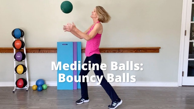 Medicine Balls:  Bouncy Balls