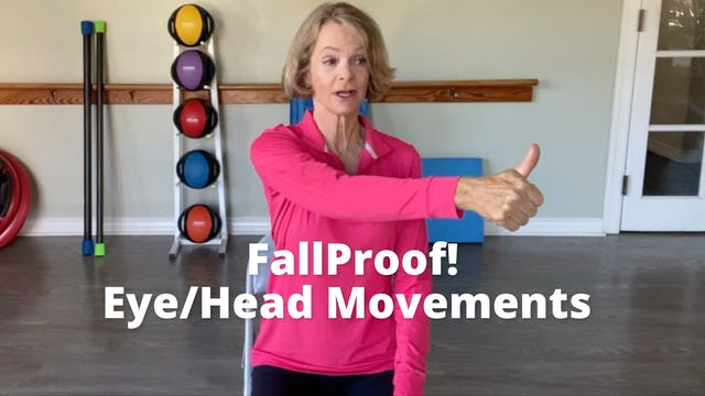 FallProof!  Eye/head Movements