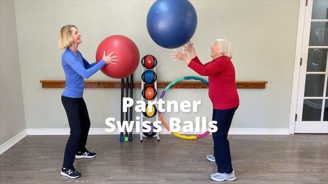 Partner Swiss Balls