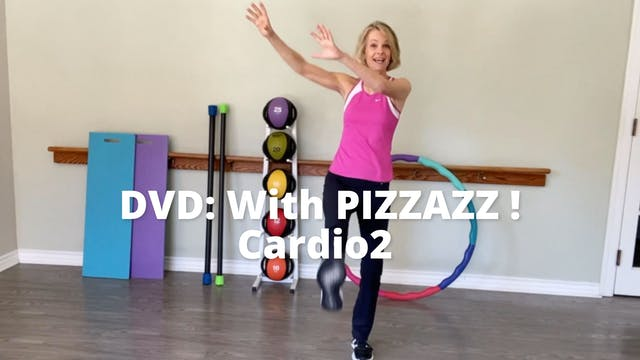 With PIZZAZZ!  Cardio 2 (Synopsis)