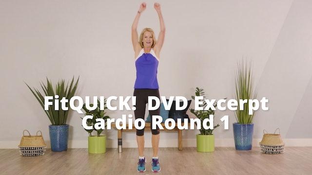 FitQUICK!  DVD Excerpt    Cardio Round 1