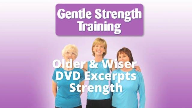 DVD Excerpts:   Older Wiser Workout  ...