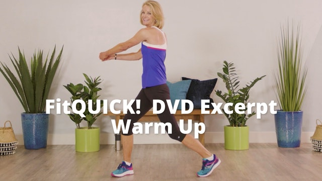 FitQUICK DVD Excerpt    Warm Up